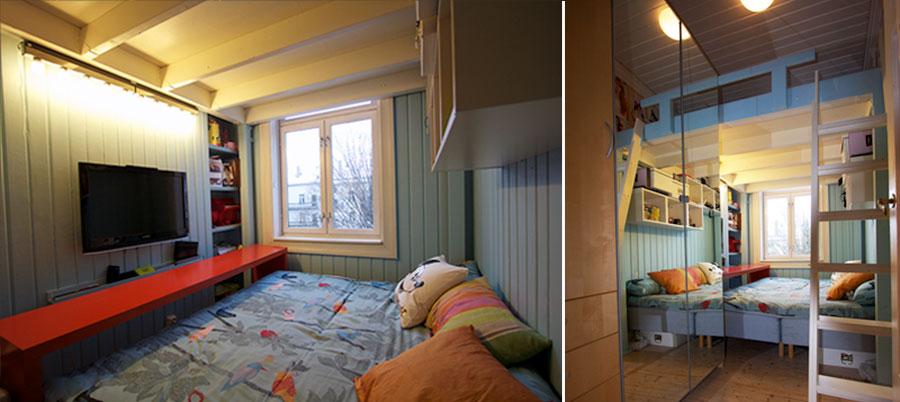 Dobble størrelsen på rommet til voksende barn?